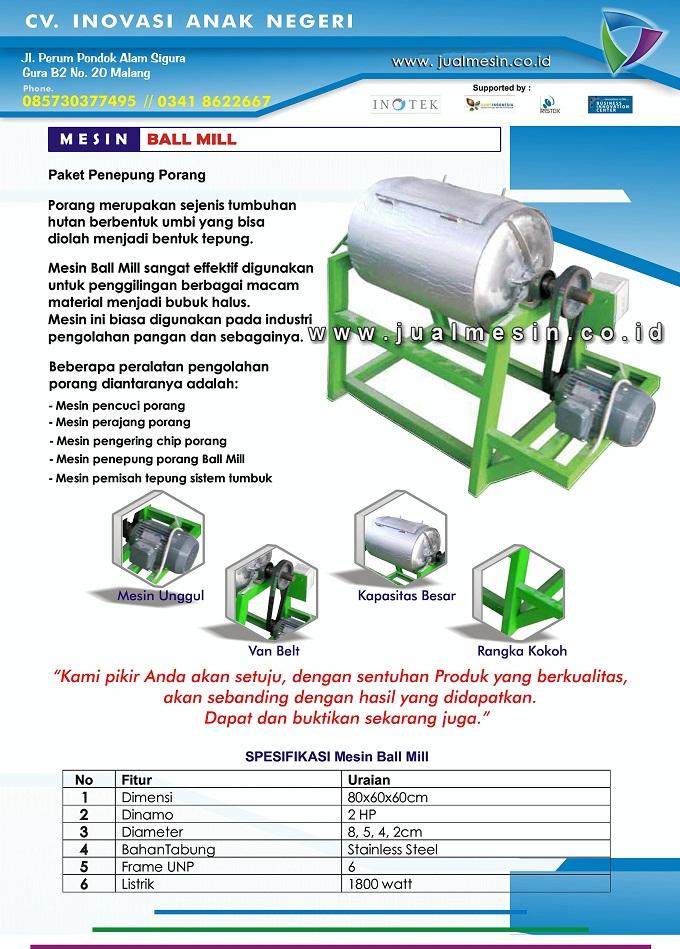 mesin ball mill