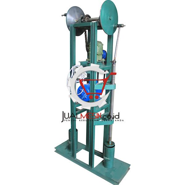 mesin press baglog jamur