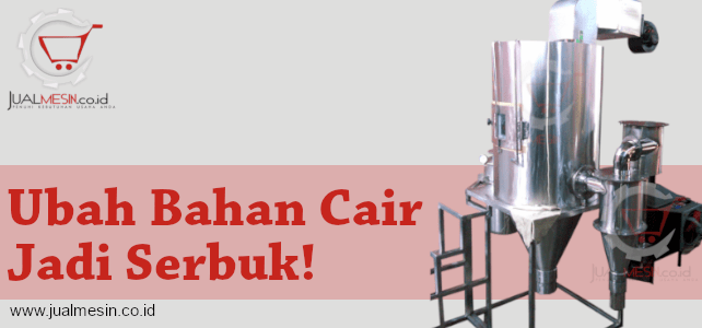 Mesin Spray Dryer Jual Mesin