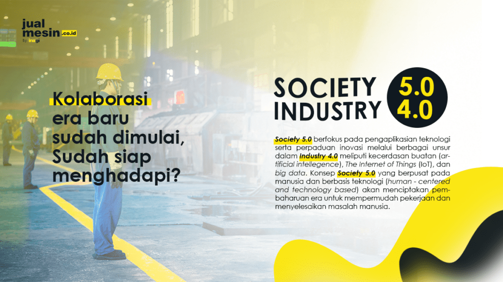 Society 5.0 & Industry 4.0
